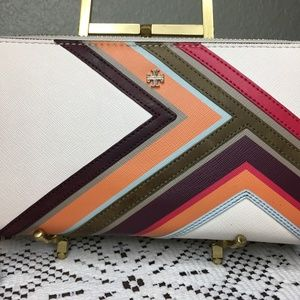 Tory Burch Multi Color Wallet